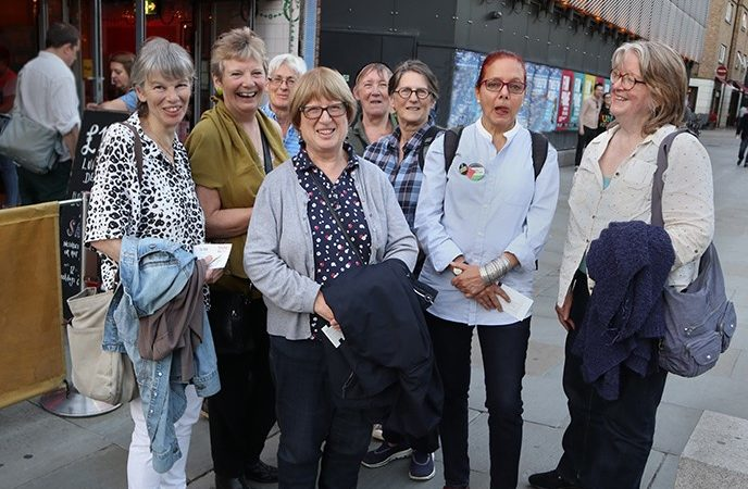 Lesbian show london