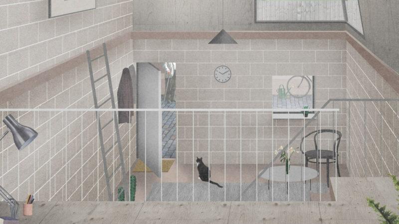 Naked House OMMX interior