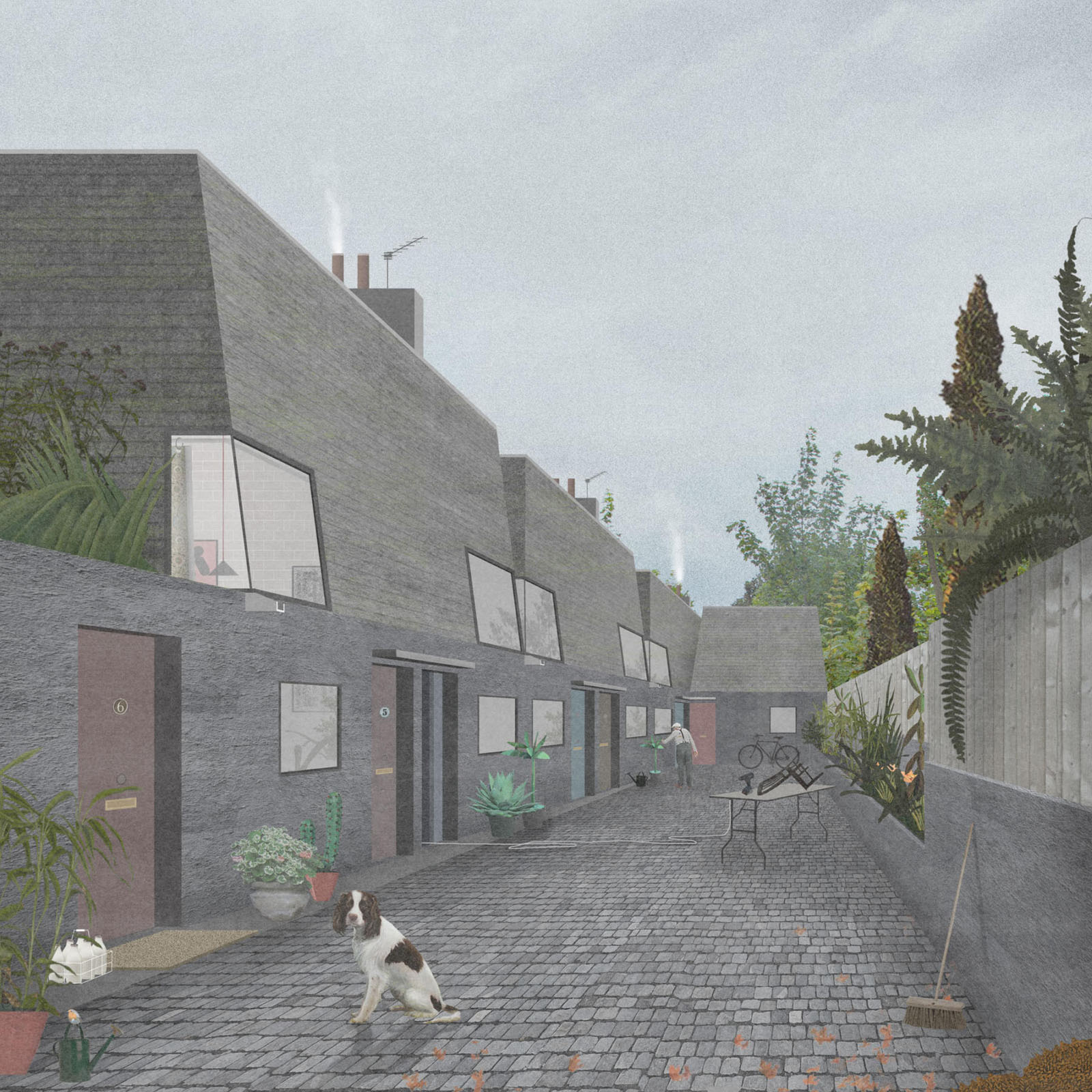 Naked House OMMX street