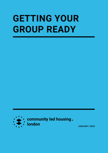 Getting your Group Ready